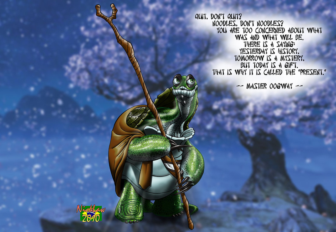 Kung Fu Panda Oogway Quotes: What It Takes To Be Great